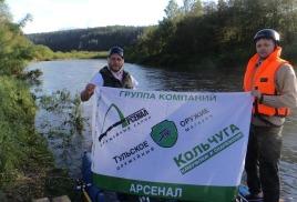 11 – 14 июня 2015г. ГК Арсенал и Команда63.РФ на сплаве по реке Усть Койва  в Пермском крае.